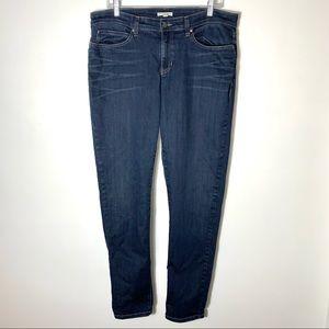 Eileen Fisher Dark Wash Skinny Jeans Size 14